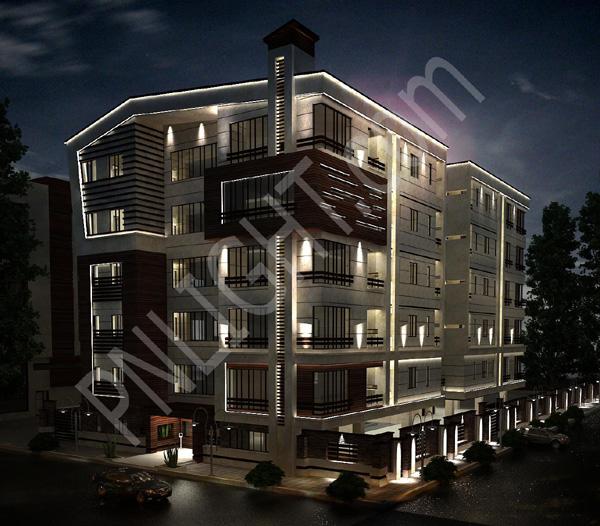 پروژه مسکونی منظوری