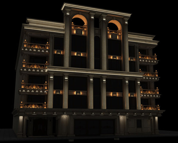 طراحی نورپردازی نما