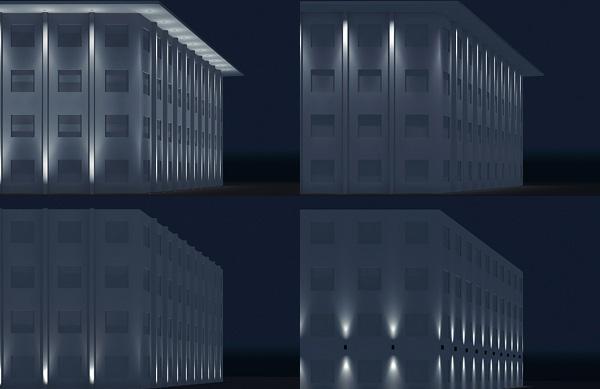 مدلهای نورپردازی نما