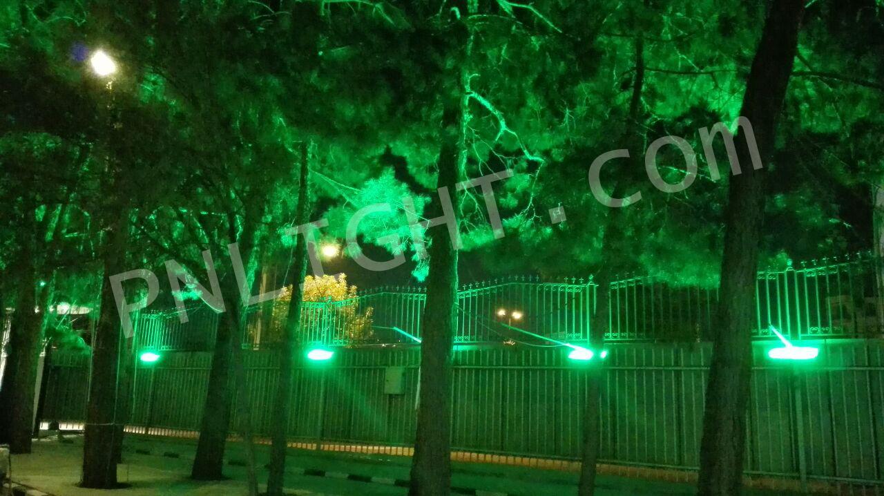 پروژکتورهای نورپردازی فضای سبز
