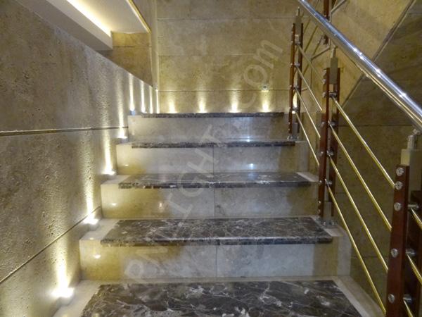 نورپردازی راه پله
