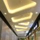طرح نورپردازی داخلی سقف تجاری