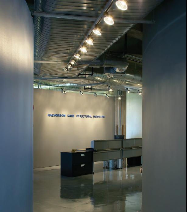 نورپردازی داخلی دفتر