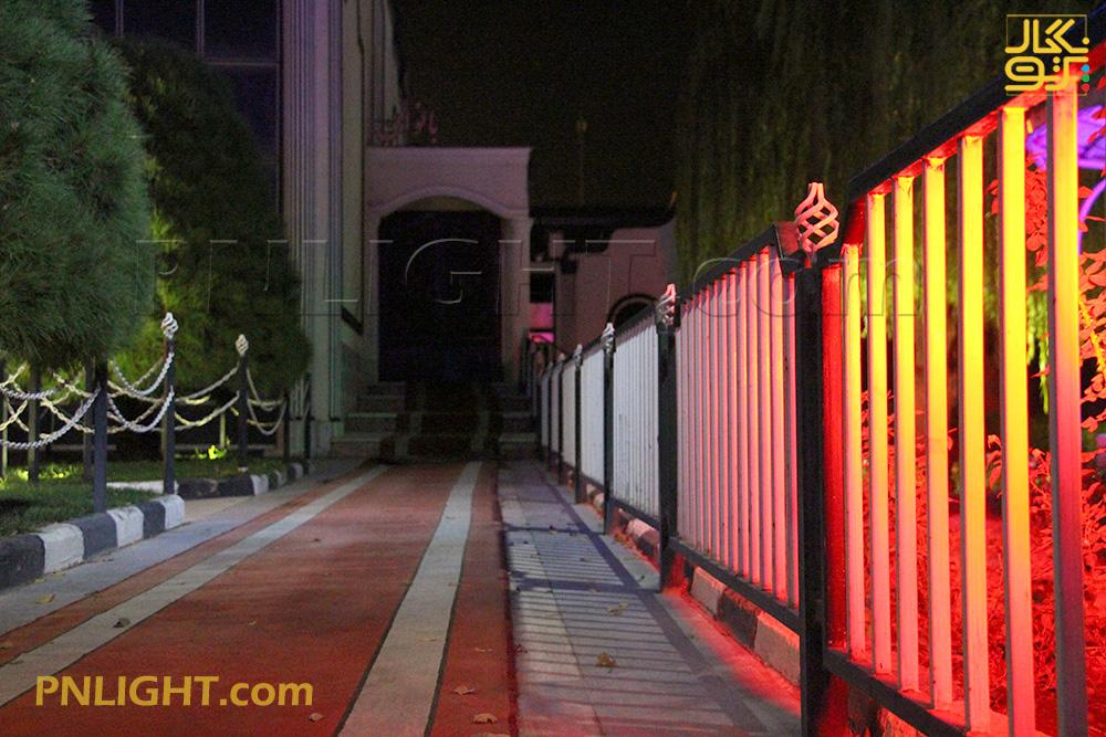 نورپردازی تالار پذیرایی
